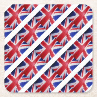 UK FLAG SQUARE PAPER COASTER