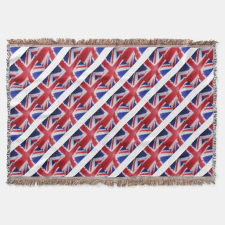 UK FLAG THROW BLANKET