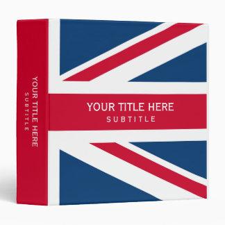 UK Flag Union Jack binder