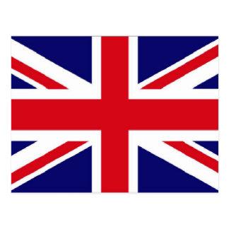 UK flag Union Jack Postcard