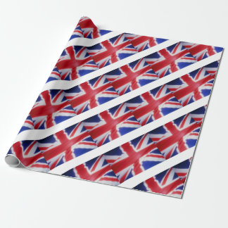 UK FLAG WRAPPING PAPER