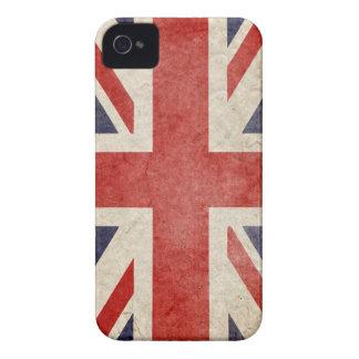 UK Grunge Flag Blackberry Bold iPhone 4 Case-Mate Case