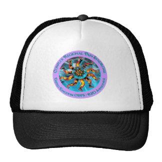 UK - Hand & Leg Starburst  Turquise  & Lavender Ci Trucker Hat