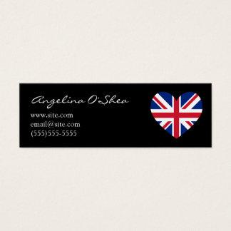 UK Heart Skinny Business Card