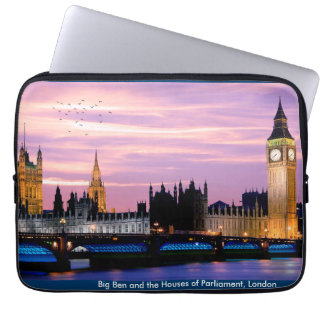 UK landmark image Neoprene-Laptop-Sleeve Laptop Computer Sleeve