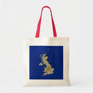 UK Map Bag