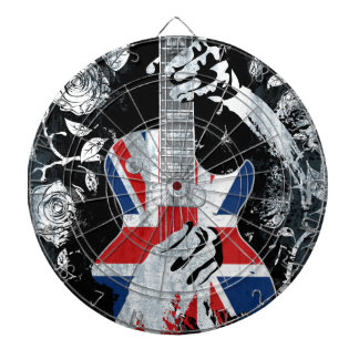 UK Music Guitar Life Dartboard
