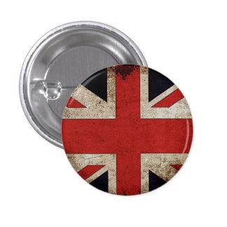 UK Pride Grunge UK Flag 1 Inch Round Button