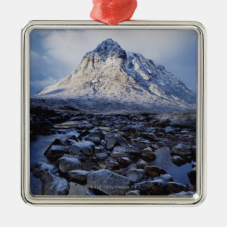 UK,Scotland,Highlands,Buchaille Etive Mor Metal Ornament