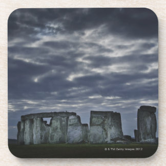UK, Stonehenge, Scenic view at dawn Drink Coasters