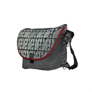 UK Techno-Glass-Art Messenger Courier Bags