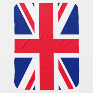 UK Union Jack British Patriotic Flag Baby Blanket