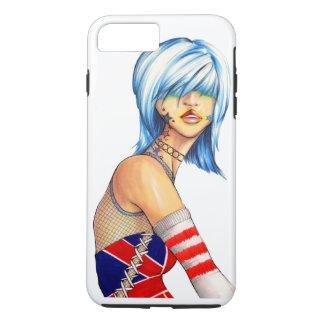 UK Union Jack Pop Girl iPhone 7 Plus Case