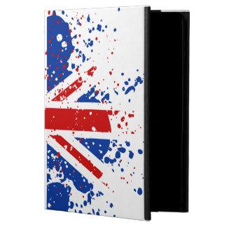 UK Union Jack Splash Colors Flag iPad Air Case iPad Air Cover