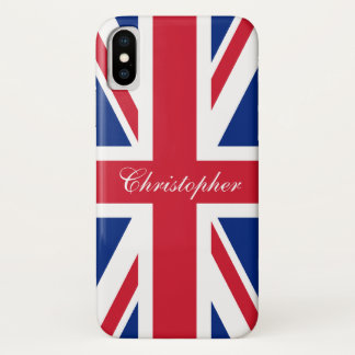 UK United Kingdom British Flag Union Jack Case-Mate iPhone Case