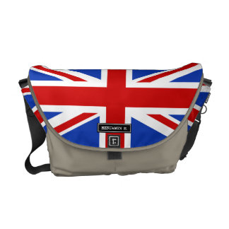 Uk United Kingdom Flag Commuter Bags