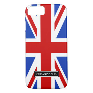 Uk United Kingdom Flag iPhone 7 Case