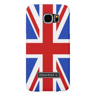 Uk United Kingdom Flag Samsung Galaxy S6 Cases