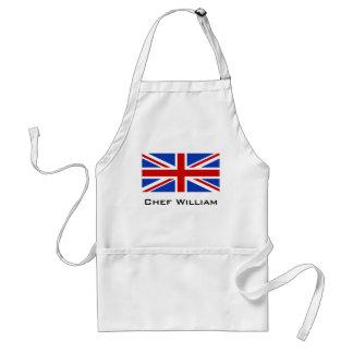 Uk United Kingdom Flag Standard Apron