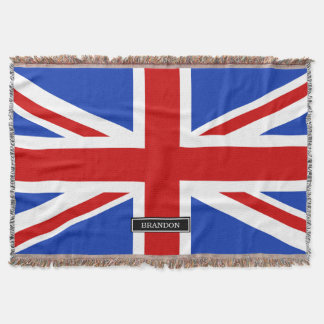 Uk United Kingdom Flag Throw