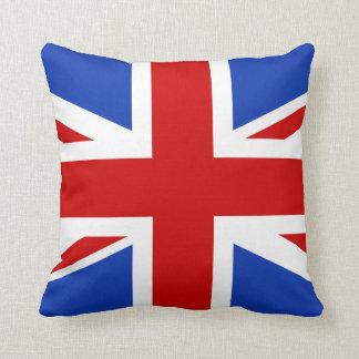 Uk United Kingdom Flag Throw Pillow