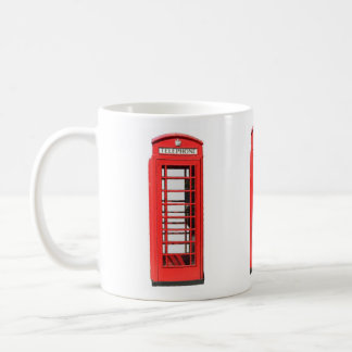 UK Victorian style Telephone Box Coffee Mug