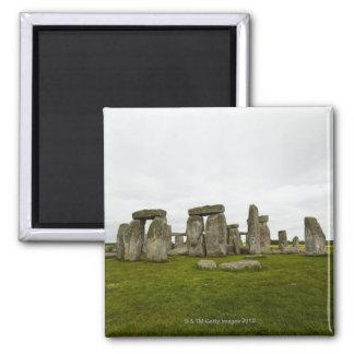 UK, Wiltshire, Stonehenge Magnet