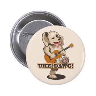 Uke Dawg! 2 Inch Round Button