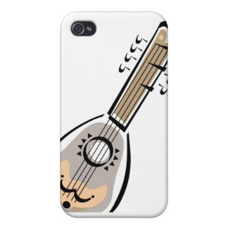 Ukelele, eight string, graphic image design cover for iPhone 4