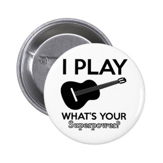 ukelele real designs 2 inch round button
