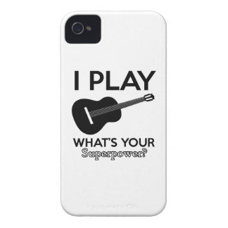 ukelele real designs Case-Mate iPhone 4 cases