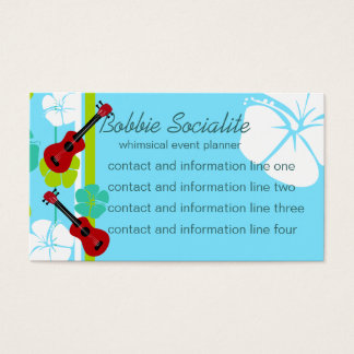 Ukelele Time! Business Card