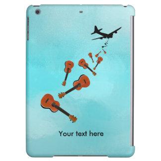 Ukes not nukes Ukulele t-shirt iPad Air Cover