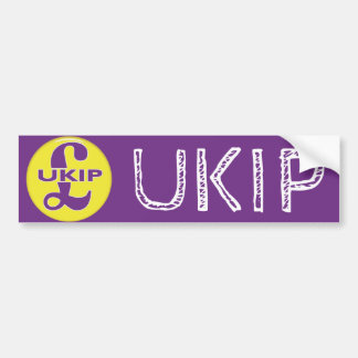 UKIP Independence Party Bumper Sticker