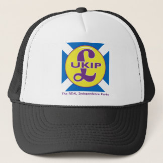 UKIP Scotland The Real independence Party Trucker Hat