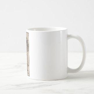 Ukiyo-e Bearded Man Classic White Coffee Mug