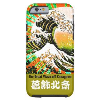 UKIYOE-Hokusai (Japanese artist) No.4 Tough iPhone 6 Case