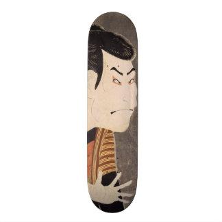 ukiyoe japan SK8 Custom Skateboard