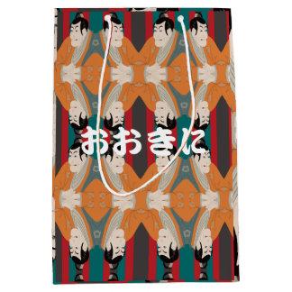 Ukiyoe series UKIYO-E Paper bag