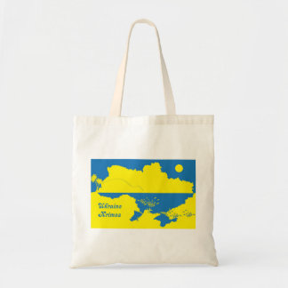Ukraine and Krimea Tote Bag