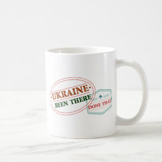Ukraine Been There Done That Coffee Mug