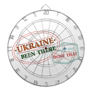 Ukraine Been There Done That Dartboard