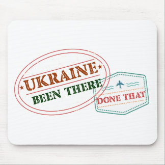 Ukraine Been There Done That Mouse Pad