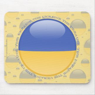 Ukraine Bubble Flag Mouse Pad