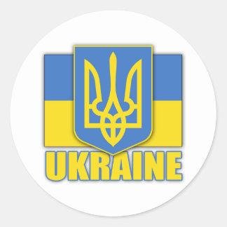 Ukraine Coat of Arms Stickers