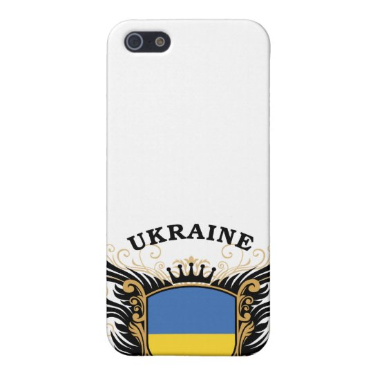 Ukraine Cover For iPhone 5/5S