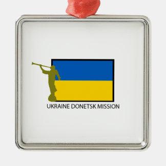 UKRAINE DONETSK MISSION LDS CTR METAL ORNAMENT