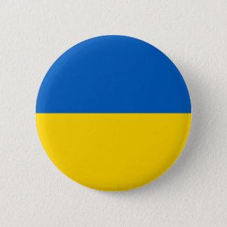 Ukraine Flag 2 Inch Round Button