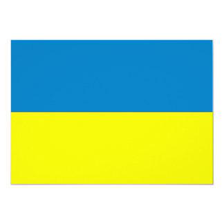 Ukraine Flag Card