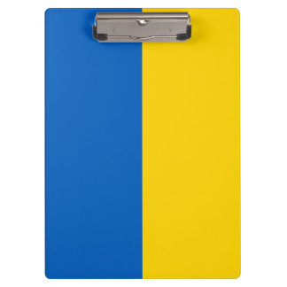 Ukraine Flag Clipboard